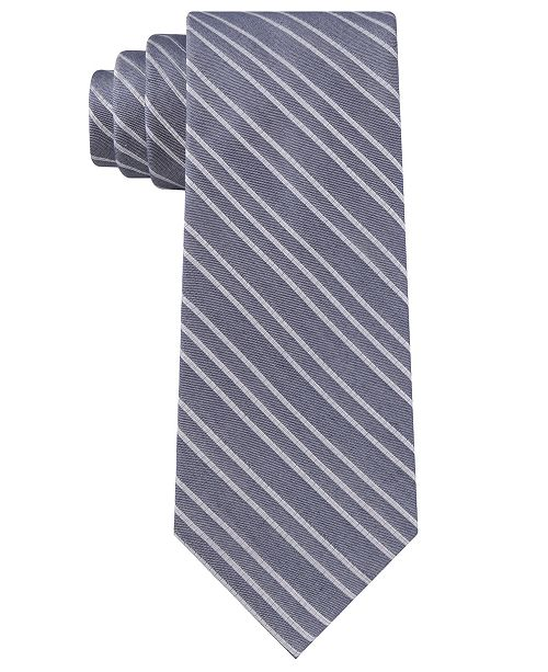 Calvin Klein Men's Dual Stripe Tie