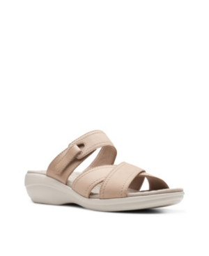 Clarks-Collection-Womens-Alexis-Art-Flat-Sandals-Womens-Shoes