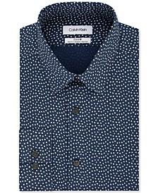 Calvin Klein Men's Slim-Fit Multi-Print Dress Shirt