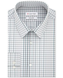 Men's Extra-Slim Fit Water Print Dress Shirt