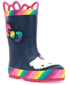 Toddler Girls Hello Kitty Rainy Bow Rain Boot