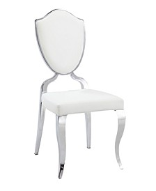 Letty Shield Back Side Chair with Cabriole Legs, Set of 2