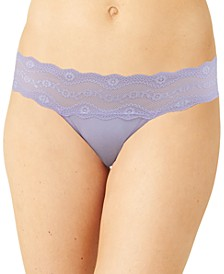 b.adorable Lace-Waistband Thong Underwear 933182