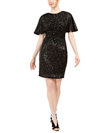 Sequined Sheath Dress