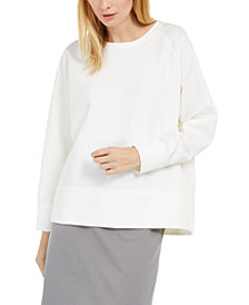 Eileen Fisher Relaxed Crewneck Top