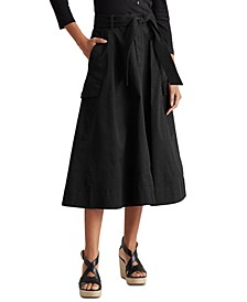 Cargo A-line Skirt