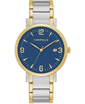 Men's Two-Tone Stainless Steel Bracelet Watch 39mm