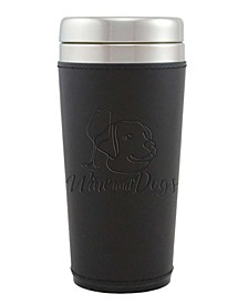 Leatherette Tumbler Coffee Mug