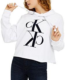 Calvin Klein Jeans Flocked Logo Hoodie