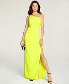 Luxe Stretch Crepe Gown