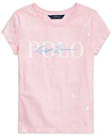 Big Girls Paint-Splatter Cotton T-Shirt