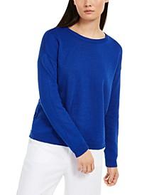 Relaxed Crewneck Sweater, Regular & Petite Sizes
