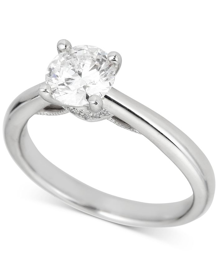 Macy's - Diamond Engagement Ring (1 ct. t.w.) in Platinum