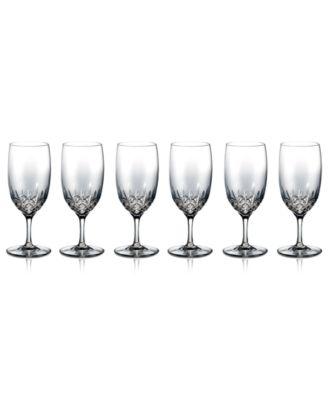 Stemware, Lismore Essence Iced Beverage Glasses, Set of 6