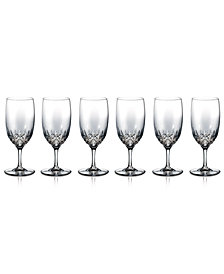 Waterford Stemware, Lismore Essence Iced Beverage Glasses, Set of 6