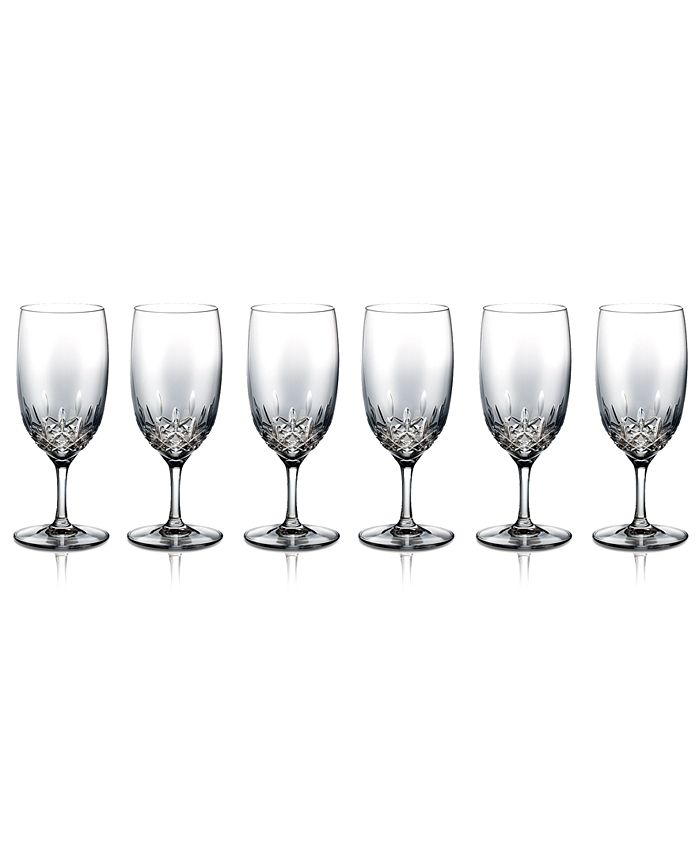Waterford - Set of 6 Lismore Essence Iced Beverage Glasses