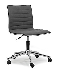 Aiko Fabric Swivel Office Chair with Wheel Base