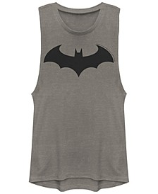DC Batman Simple Logo Festival Muscle Women's Tank
