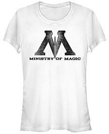 Harry Potter Ministry Of Magic Logo Women's Short Sleeve T-Shirt
