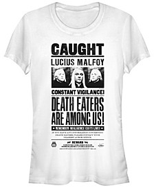 Harry Potter Lucius Malfoy Death Eaters Caught Poster Women's Short Sleeve T-Shirt