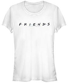 Friends Classic Letters Logo Women's Short Sleeve T-Shirt