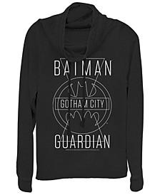 DC Batman Gotham City Guardian Cowl Neck Women's Pullover Fleece