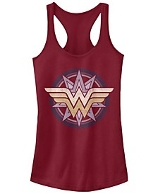 DC Wonder Woman Star Logo Women's Racerback Tank