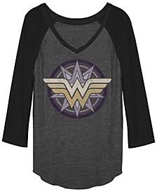 DC Wonder Woman Raglan Baseball Women's T-Shirt