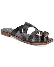 Arena Toe-Strap Flat Sandals