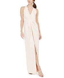 Adrianna Papell V-Neck Gown