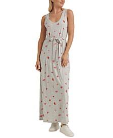 Eliza Floral-Print Maxi Dress