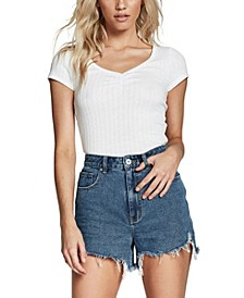 High Rise Harley Denim Short
