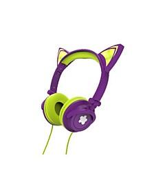 Light-Up Cat Ear Headphones
