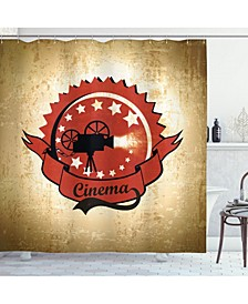 Movie Theater Shower Curtain