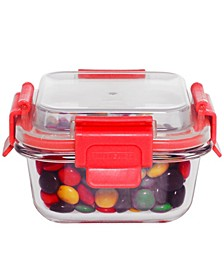 HDS TRADING CORP Rectangle Borosilicate Glass Food Storage with Air-tight Plastic Lid