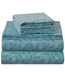 Cotton Flannel Sheet Set- Full