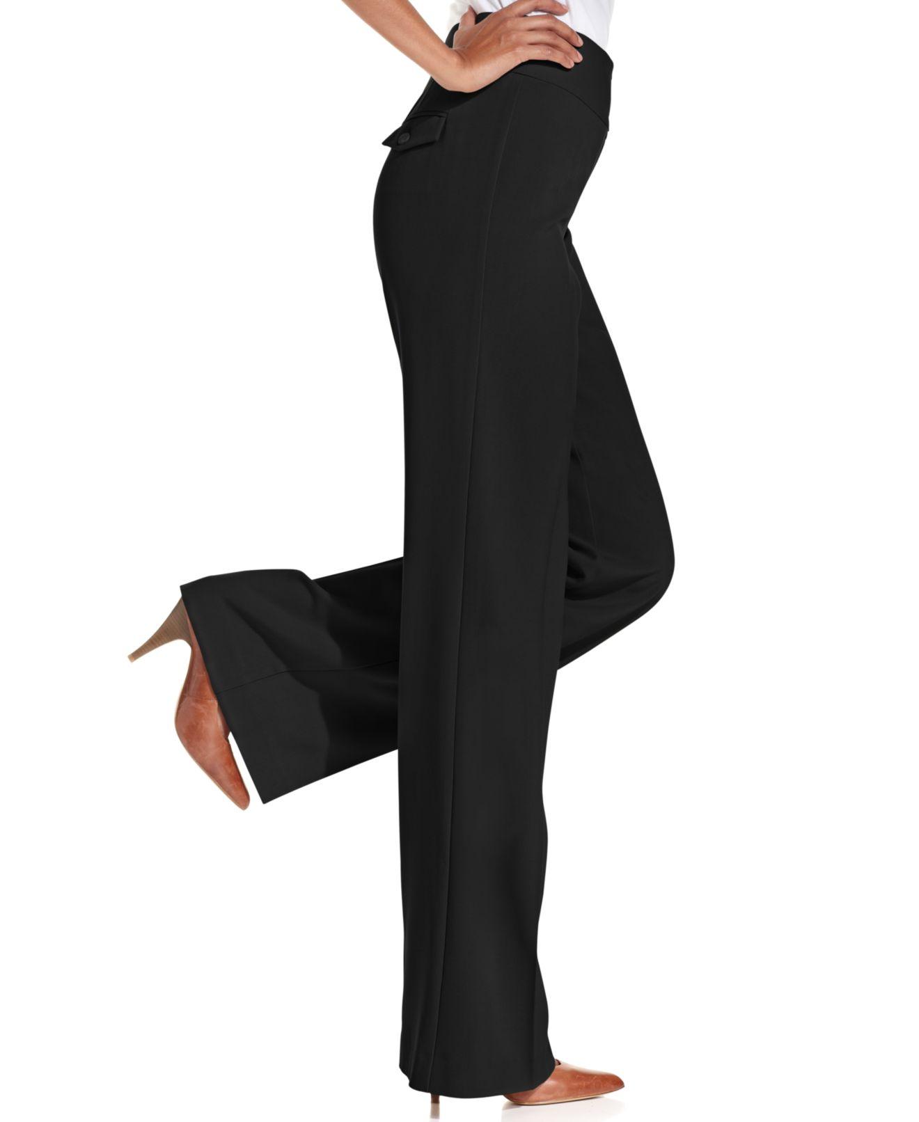 Womens Navy Dress Pants