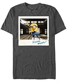 Minions Men's Stuart Poloroid Moves Short Sleeve T-Shirt
