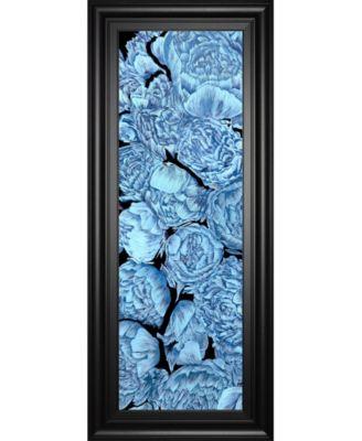 Blue Peonies I by Melissa Wang Framed Print Wall Art, 18