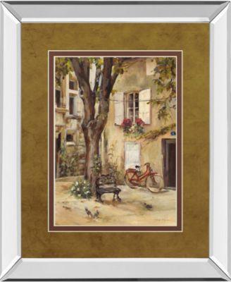 Provence Village I by Marilyn Hageman Mirror Framed Print Wall Art, 34