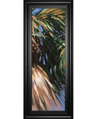 Wild Palm Il by Suzanne Wilkins Framed Print Wall Art - 18