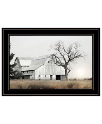 Ohio Fields I by Lori Deiter, Ready to hang Framed Print, White Frame, 21