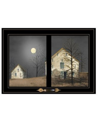 Still of the Night by Billy Jacobs, Ready to hang Framed Print, Black Frame, 20