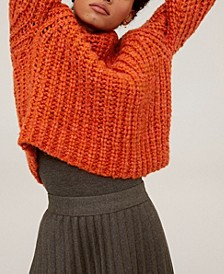 Chunky-Knit Sweater