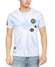 Men's Washed Out Graphic Patch T-Shirt