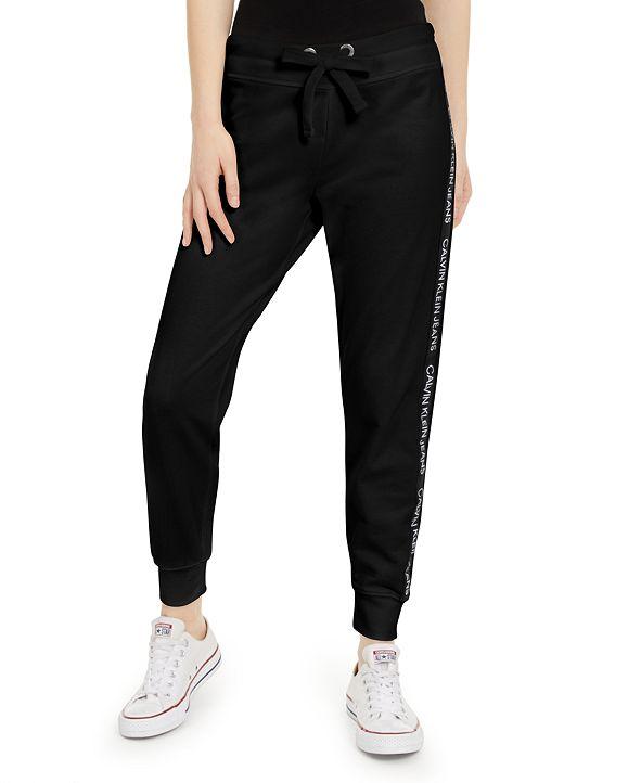 Calvin Klein Jeans Logo-Tape Joggers