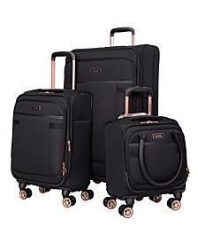 3-Pc. Hudson Expandable Softside Luggage Set