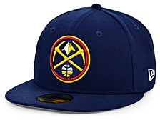 Denver Nuggets The Circle Patch 59FIFTY-FITTED Cap
