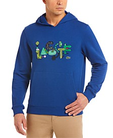 Men's Croco Series Jeremyville® Limited Edition Hoodie with Exclusive Cartoon Croc Graphics