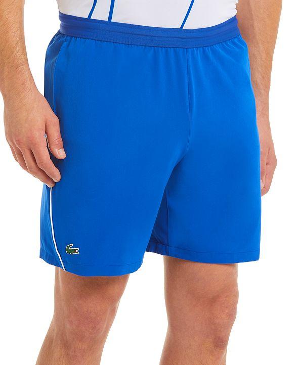 Lacoste Men's SPORT Novak Djokovic On-Court Stretch Tennis Shorts